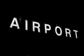 sign-airport-neon-illuminated-area